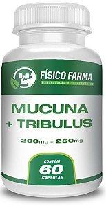 MUCUNA 200mg TRIBULLUS TERRESTRIS 250mg 60 Cápsulas