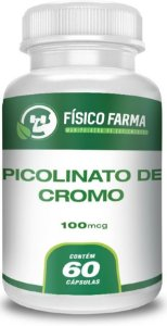 PICOLINATO DE CROMO 100mcg 60 Cápsulas