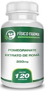 Pomegranate Extrato De Romã 350mg 120 Cápsulas