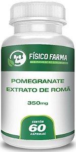 Pomegranate Extrato De Romã 350mg 60 Cápsulas
