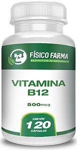 VITAMINA B12 (METILCOBALAMINA) 500mcg 120 Cápsulas