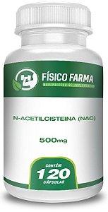 N Acetil Cisteina (NAC) 500Mg 120 Doses