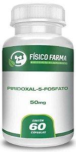 Piridoxal-5-Fosfato - Forma Ativa da Vitamina B6 (50mg - 60 Cps)