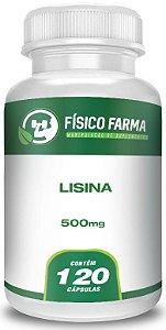 Lisina 500mg 120 Cápsulas
