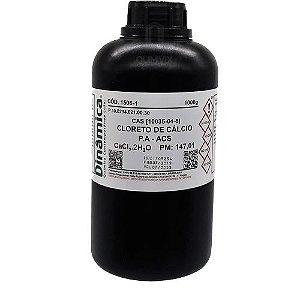 Cloreto de Cálcio Dihidratado PA 1Kg Dinâmica