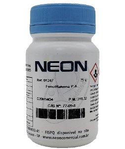 Fenolftaleína PA 25g Neon