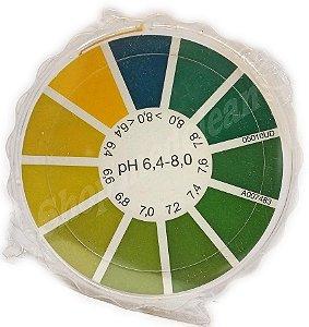 Papel Ph Fita Ph Urina E Saliva 6,4 A 8,0 5m Importada