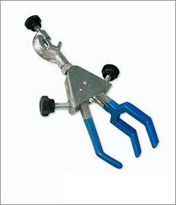 Pinça para Condensador 3 Dedos com Mufa abertura 90mm