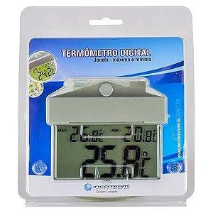 Termômetro Digital de Janela Máxima e Mínima