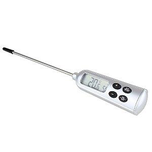 Termômetro Espeto Haste Inox Digital A prova d'água 9791