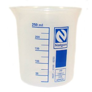 Becker em polipropileno Cap.250 Ml Nalgon
