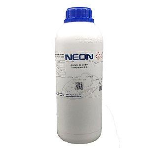 Acetato de sodio trihidratado PA 1KG Neon