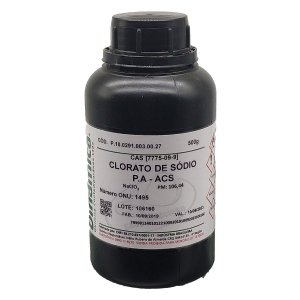 Clorato de Sodio PA ACS 500G Dinamica
