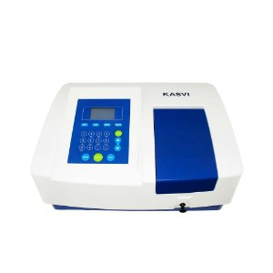Espectrofotômetro Uv/visível Faixa 190 ~1100 Nm Bivolt Modelo K37-UVVIS kasvi