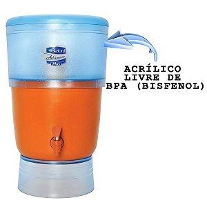 Filtro de barro Advance Plus Stéfani com 2 Velas Cap. 8 Litros
