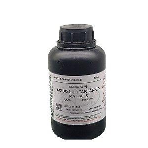 Acido Tartarico L (+) PA ACS Dinamica 500GR