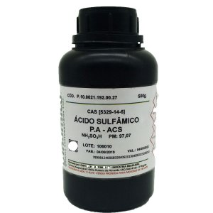 Acido Sulfamico PA 500GR Dinamica