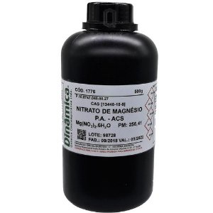 Nitrato De Magnesio (6H2O) PA ACS 500G Dinamica
