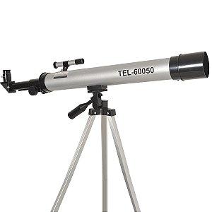 Telescópio Astronômico Abertura 50mm E Lente Focal 600mm