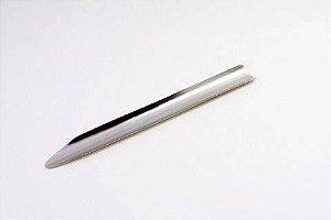 Espatula Tipo Canaleta em Aço Inox 15 CM Ricilab