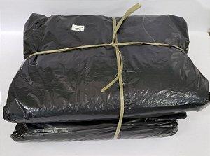 Saco de lixo 300 litros preto reforçado 0,10 com 50