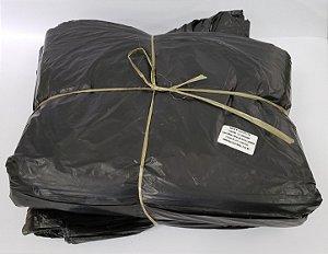 Saco de lixo 200 litros preto reforçado 0,8 com 100
