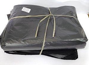 Saco de lixo 150 litros preto reforçado 0,10 com 100