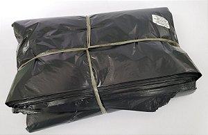 Saco de lixo 100 litros preto reforçado 0,10 com 100
