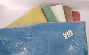 Saco de lixo 60 litros colorido com 100