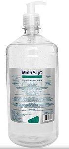 Álcool em gel antisséptico 500ml com pump