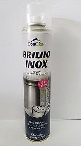 Abrilhantador de inox aerosol 300ml Brilho Inox