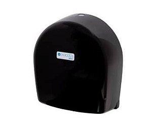 Suporte para papel higiênico rolão até 600m preto