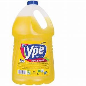 Detergente neutro 5 litros YPÊ