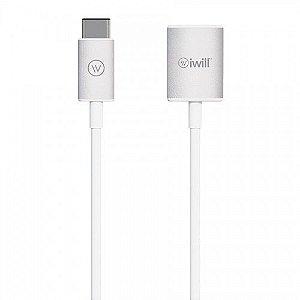 Adaptador USB-C to USB - iWill
