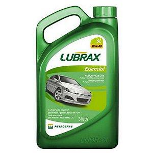 Óleo Lubrificante de Carro Lubrax 15w40 Essencial Sl 3L