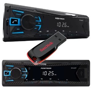 Positron Rádio Sp2230bt Bluetooth Usb + Pendrive