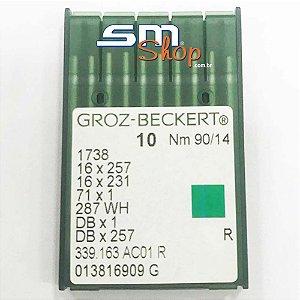 Agulha Groz-Beckert 90/14 para Máquinas de Costura e Bordado Industrial