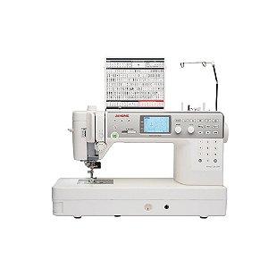 Máquina de Costura Janome MC6700P para Quilt e Patchwork