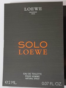 Amostra  Perfume Loewe Pour Homme 2ml