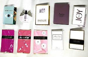 Kit de 10 Amostras de Perfumes Importados - Veja Lista das Disponíveis na Descrição do Anúncio