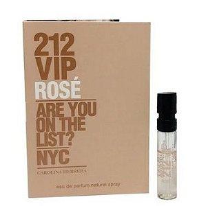 Amostra Perfume 212 Vip Rose 1,5ml  Carolina Herrera