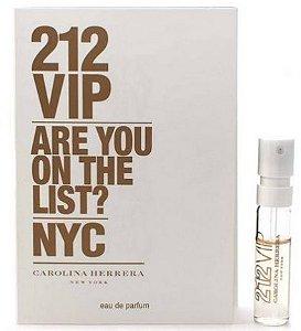 Amostra Perfume 212 Vip edp 1,5ml  Carolina Herrera
