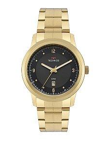 Relógio Technos Dourado Masculino - 2115MRF/4P