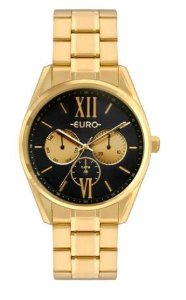 Relógio Euro Multi Glow Feminino Dourado-  EU6P79AD/4P