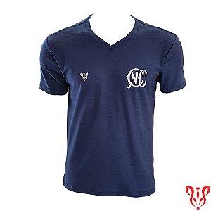 Camisa Náutico Timbushop - CNC Flame - Gola V - Masculina
