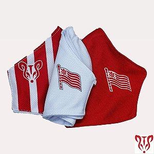 Kit Proteção Náutico Bandeira (3 máscaras) - Timbushop