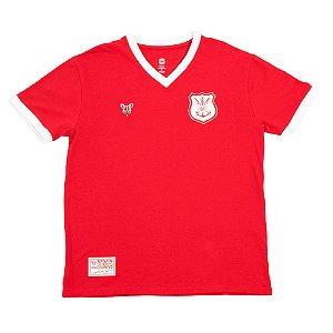 Camisa Náutico Timbushop - Retrô - Gola V - Masculina