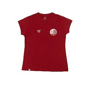 Camisa Náutico Timbushop - Básica Escudo Atual - Feminina