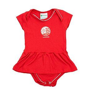 Body Vestido - Torcida Baby - Timbushop Nautico