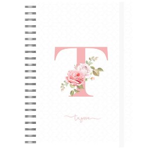 AG Permanente : Letra Floral - Capa Branca